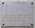 Gedenktafel, Bayernallee 11, Emil Nolde.jpg