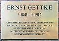 Gedenktafel Möckernstr 68 (Kreuz) Ernst Gettke.jpg