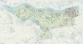 Zaltbommel - Dutch Topographic map of Zaltbommel, Sept. 2014