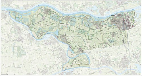 Dutch Topographic map of Zaltbommel, Sept. 2014