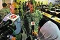 Gen. Stanley A. McCrystal is interviewed by local media (4522471005).jpg