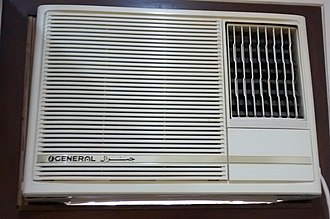 General Airconditioners - A window mounted General air conditioner