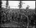 General Godley reviews the New Zealand troops after the Battle of Messines, Belgium (21663764075).jpg