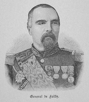 Army of Châlons - Général de Failly, commander of the 5th Army Corps.