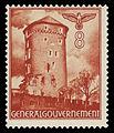 Generalgouvernement 1940 41 Sandomiersk Bastei der Burg in Krakau.jpg