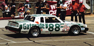 Geoff Bodine - Bodine's Cup car in the 1983 Van Scoy Diamond Mine 500