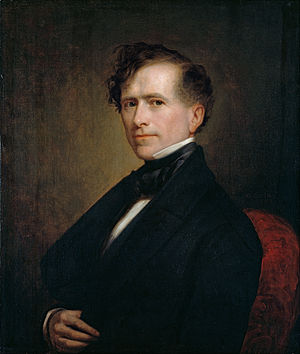 United States presidential election in New Hampshire, 1852 - Image: George Peter Alexander Healy Franklin Pierce Google Art Project