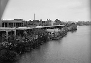 Washington Harbour - The Georgetown waterfront in 1967.