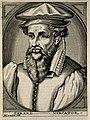 Gerard Mercator (Cremer). Line engraving by N. de Larmessin, Wellcome V0003979.jpg