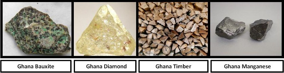 Ghana Mineral Resources (collage)