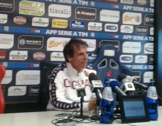 Gianfranco Zola - Zola as manager of Cagliari in 2015