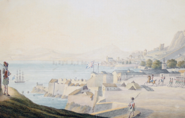 Gibraltar from the Straits; and The Black Watch on Parade at Gibraltar 1