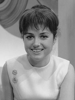 Gigliola Cinquetti Italian singer and TV presenter