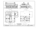 Gilchrist House, 6515 York Road, Parma, Cuyahoga County, OH HABS OHIO,18-PARM,2- (sheet 1 of 3).png