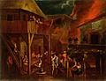Gillis van Valckenborch - Požar na vasi s krčmo.jpg