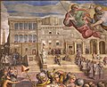 Giorgio vasari, gregorio xi torna a roma da avignone, 1572-73, 02.jpg