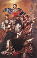 Giovanni Benedetto Castiglione - The Miracle of Soriano - WGA04551