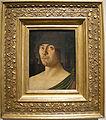 Giovanni bellini, ritratti del poeta raffaele zovenzoni (il poeta laureato), 1467 circa.JPG