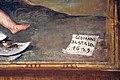 Giovanni da san giovanni, Cristo servito dagli angeli, Sant'Agostino, San Bartolomeo, 1629, 09.JPG