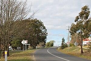 Gisborne, Victoria - Image: Gisborne Entry