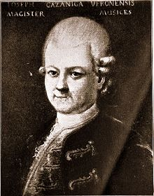 Giuseppe Gazzaniga ca. 1780 (Quelle: Wikimedia)