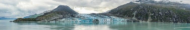 Glaciar Lamplugh, Parque Nacional Bahía del Glaciar, Alaska, Estados Unidos, 2017-08-19, DD 147-153 PAN.jpg