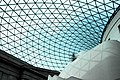 Glass and steel roof of the Great Court, British Museum, London - panoramio (3).jpg