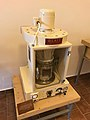 Glatt TR2 fluid dryer in exposition History of making of drugs in Kuks Hospital in Kuks, Trutnov District.jpg