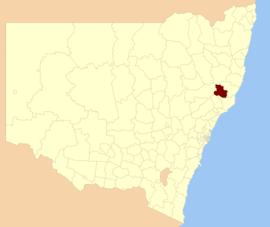 Gloucester LGA NSW