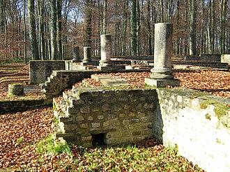 Goeblange - Goeblange: Ruins of the Roman Villa Rustica
