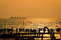 Golden Sunset in Chittagong sea beach.jpg