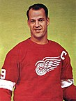 Trading Card of Gordie Howe