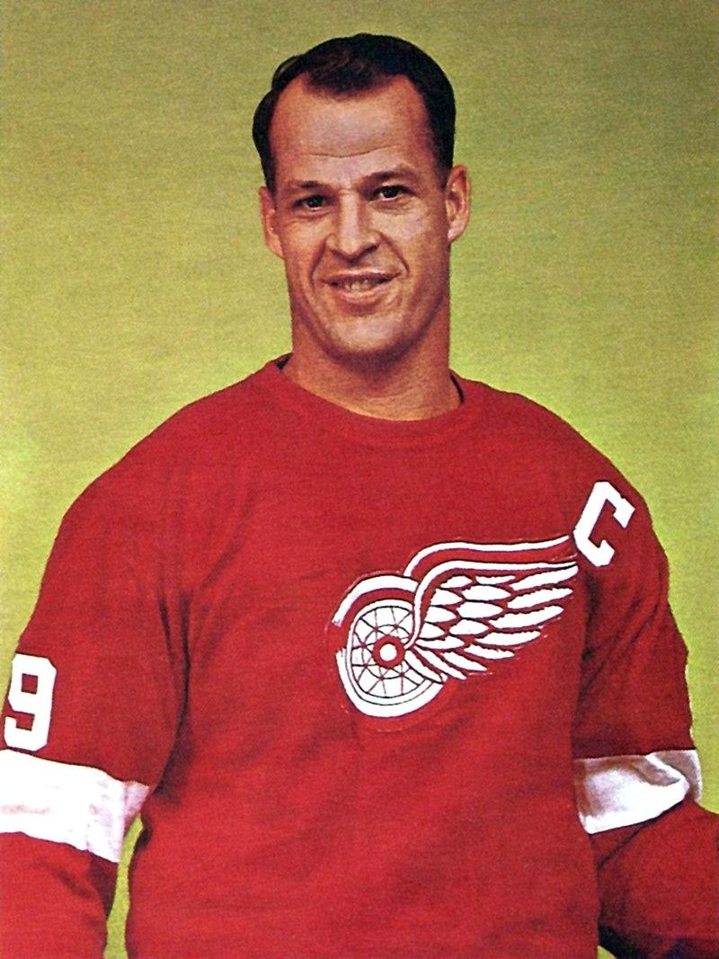 1971 : Gordie Howe Plays Last Game for Red Wings