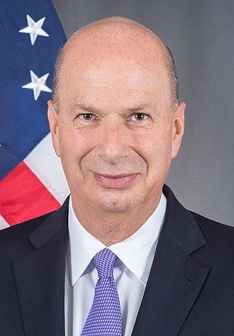 United States Ambassador to the European Union - Image: Gordon Sondland official photo (cropped)