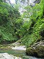 Gorges de Kakoueta, rives abruptes.jpg