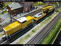 Gottwald Railway Telescopic Crane GS 100.06T DB Bahnbau Kibri 16000 Modelismo Ferroviario Model Trains Modelleisenbahn modelisme ferroviaire ferromodelismo (14440246133).jpg