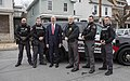 Governor Tom Wolf with Lansford officers.jpg