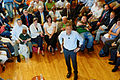 Governor of Florida Jeb Bush, Announcement Tour and Town Hall, Adams Opera House, Derry, New Hampshire by Michael Vadon 35.jpg