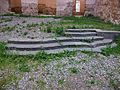 Grades d'accés a l'altar de l'església de la Mare de Déu dels Àngels, cartoixa de Valldecrist.JPG