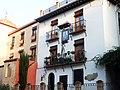 Granada, Calle Santa Ana, parte trasera de las casas.jpg