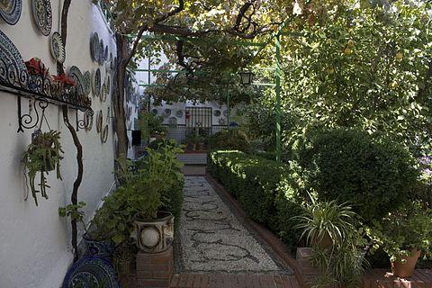 Granada Albaicin Patio del Carmen de la Estrella