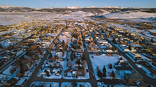 Granby, Colorado Statutory Town in Colorado, USA