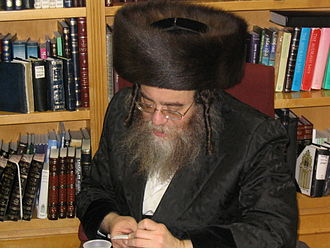 Biala (Hasidic dynasty) - Grand Rabbi Wolf Kornreich of Shidlovtza