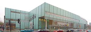 Bibliothèque et Archives nationales du Québec - The 33,000 square metre Grande Bibliothèque in Montreal, the main facility of the Bibliothèque et Archives nationales du Québec