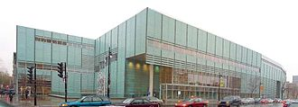 Bibliothèque et Archives nationales du Québec - The 33,000 square metre Grande Bibliothèque in Montreal, the main facility of the BAnQ