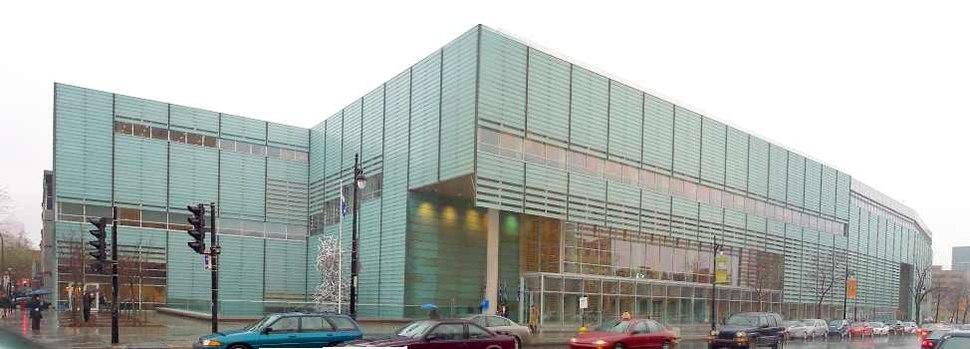 Grande bibliotheque du Quebec-exterior