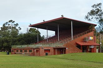 Millswood, South Australia - Image: Grandstand Goodwood Oval (14326205160)