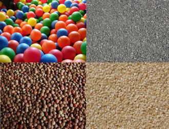 Granular material - Examples of granular materials