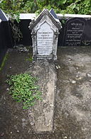 Grave of Abju Chunder Dutt, Toru Dutt's elder brother