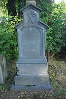 Grave of Hiacynta Truskolaska at Central Cemetery in Sanok (Matejki part) 1.jpg